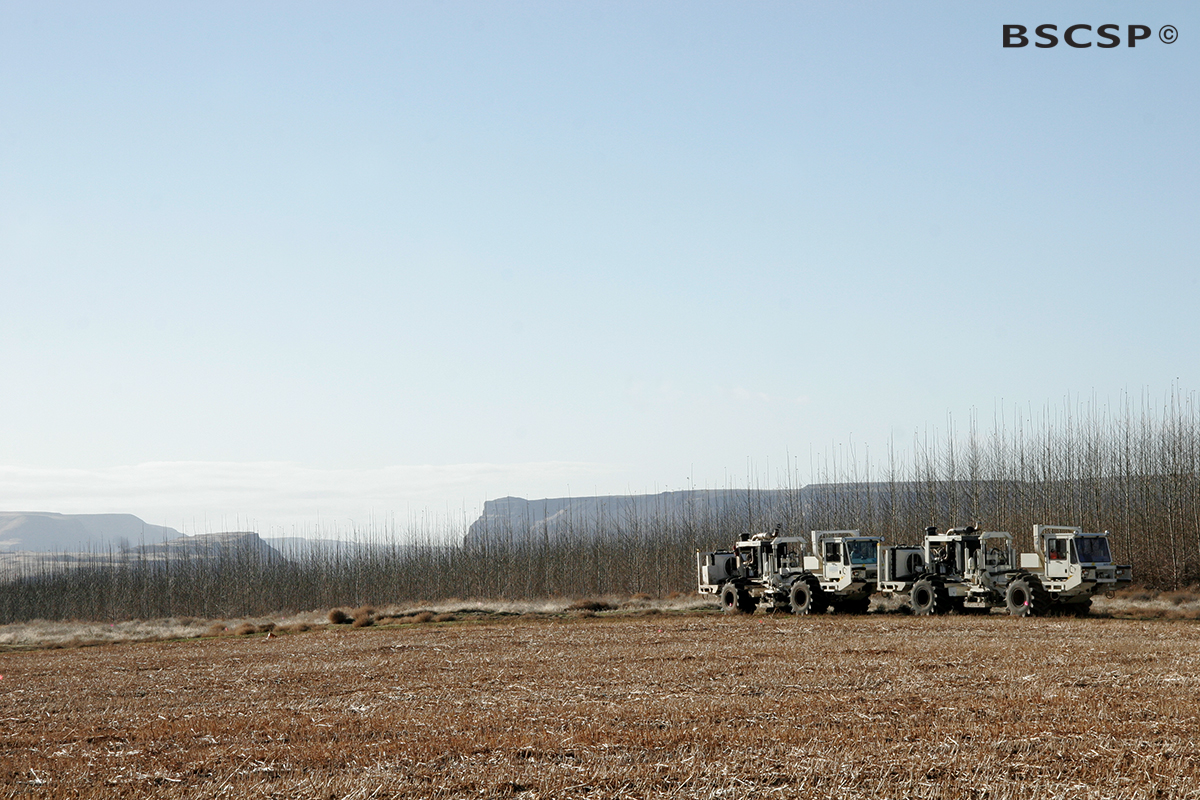 Basalt seismic trucks